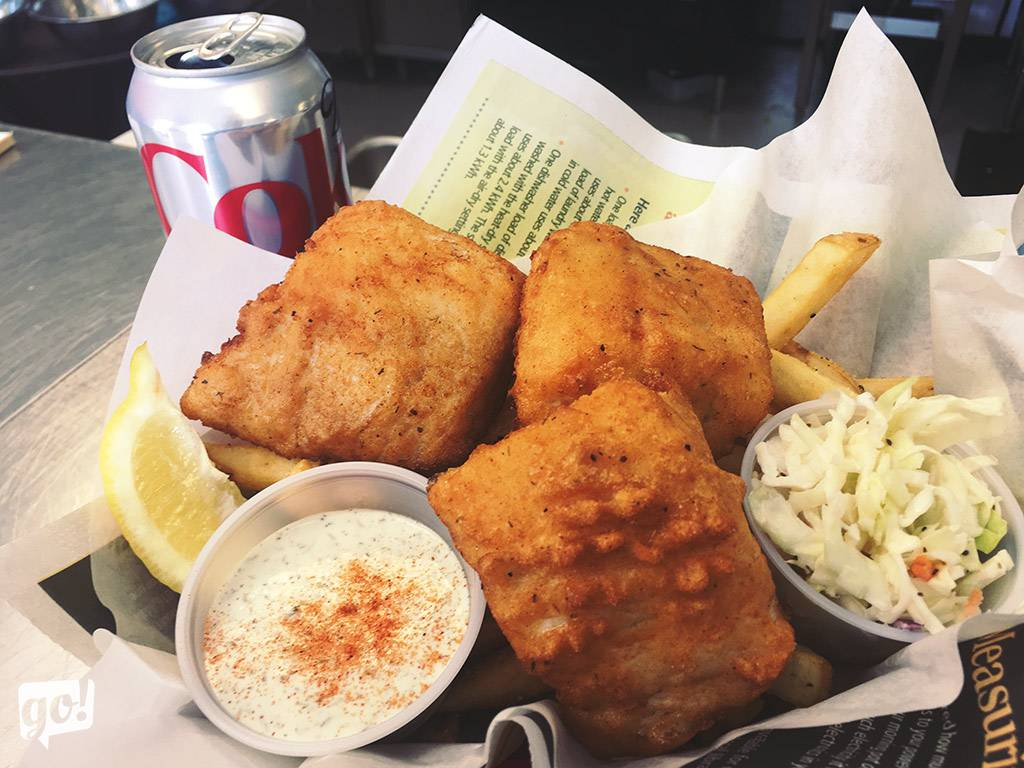 Reel Foods Fish Market Fish and Chips