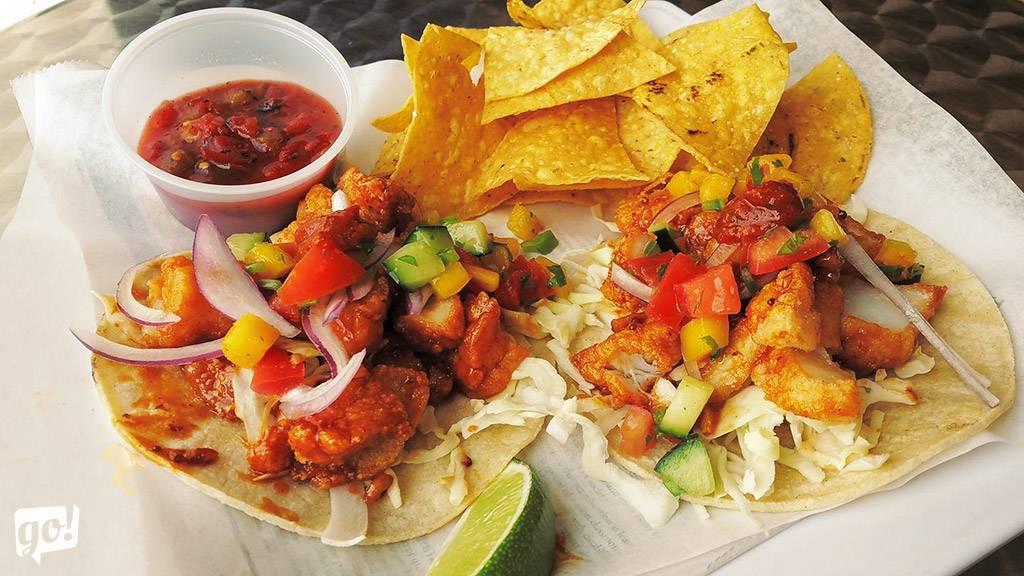 Reel Foods Fish Market Fish Tacos